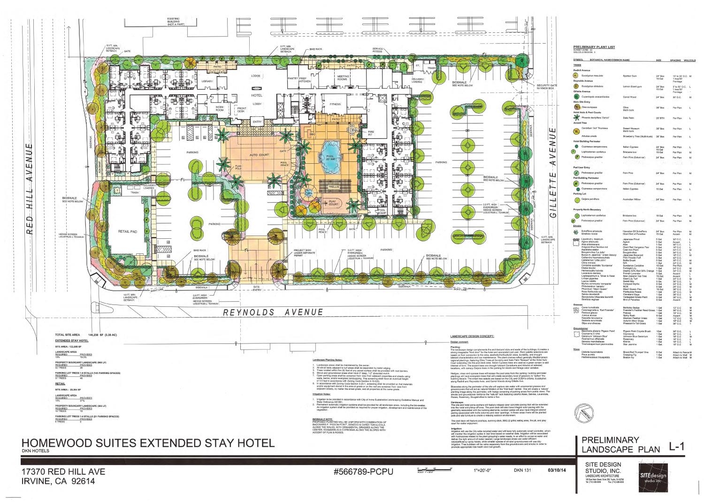 Homewood Suite Architectural Renderings